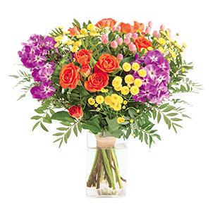 Bouquet de fleurs Parfum d'enfance