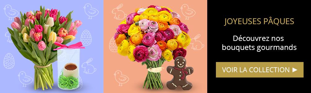Découvrez nos fleurs et chocolat pour Pâques