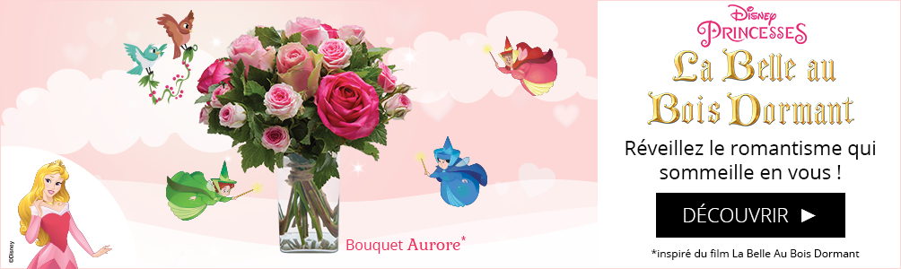 Bouquet Aurore La belle au bois dormant Disney