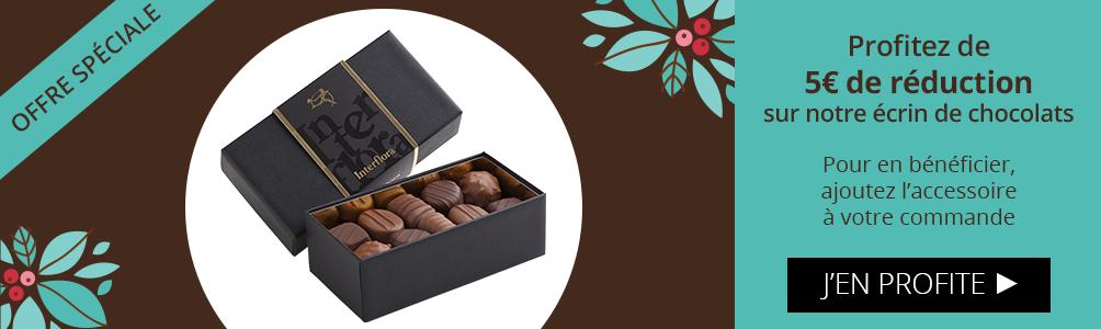 Profitez d'une réduction sur notre accessoire chocolats