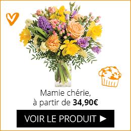 Bouquet Mamie chérie