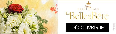 Bouquet Eternelle La belle et la Bête Disney