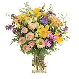 Bouquet de fleurs Alouette