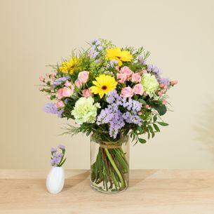 Bouquet de fleurs Chanson douce Fleur jaune