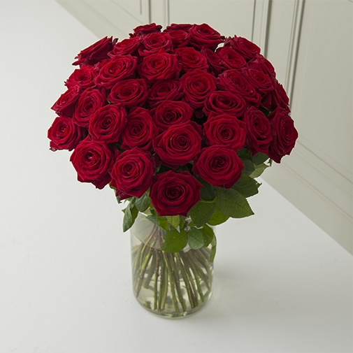 Bouquet de roses A la folie