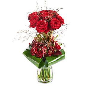 Bouquet de roses Audace Amour