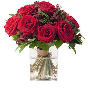 Bouquet de roses Capri Anniversaire