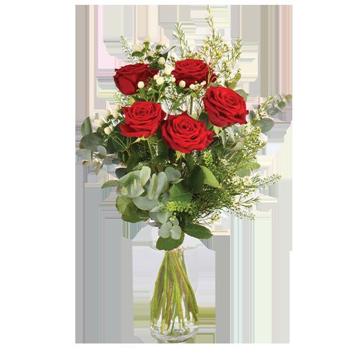 Bouquet de roses Câlin
