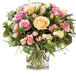 Bouquet de roses Charme Anniversaire