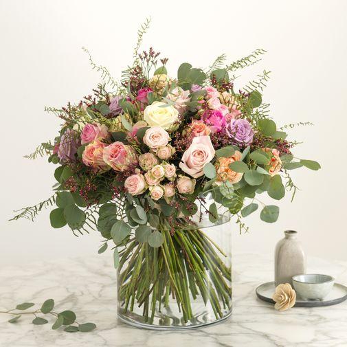 Bouquet de roses Charme absolu