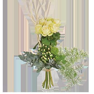 Bouquet de roses Colombe Mariage