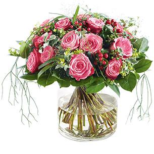Bouquet de roses Elixir Mariage invité