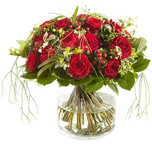 Bouquet de roses Elixir rouge Amour