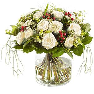 Bouquet de roses Elixir blanc Amour
