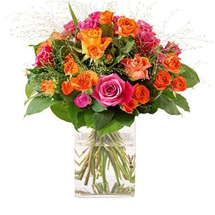 Bouquet de roses Fashion Anniversaire