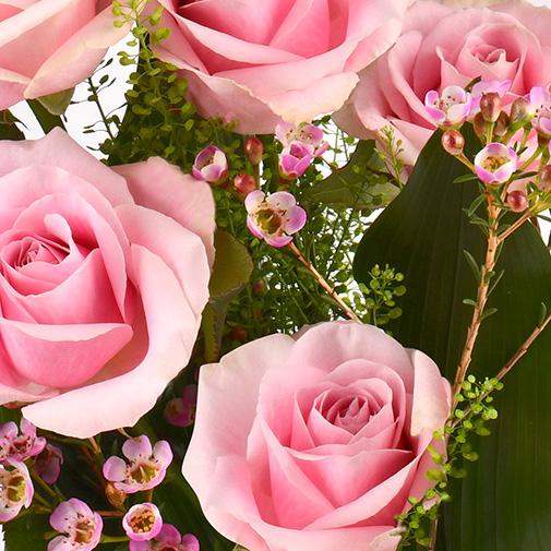 Bouquet de roses Flamingo