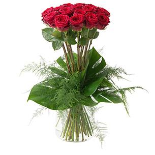 Bouquet de roses Idylle Anniversaire