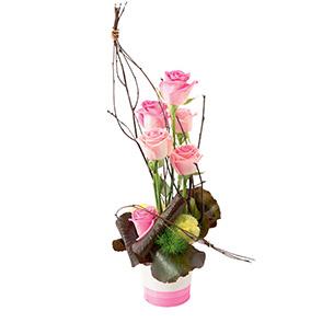 Bouquet de roses Malice Mariage invité
