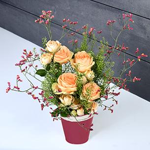 Bouquet de roses Mielrose Remerciements