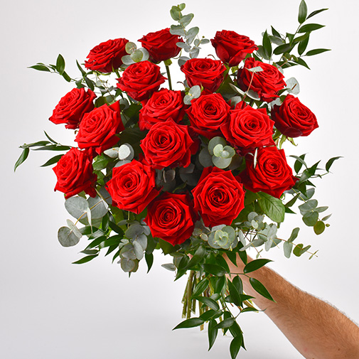 Bouquet de roses Passion