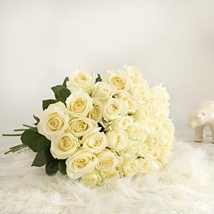 Bouquet de roses Pure sensation Mariage