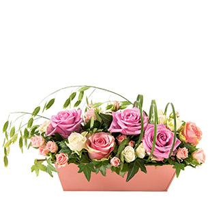 Bouquet de roses Romance Mariage invité