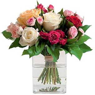 Bouquet de roses Sentiment Anniversaire