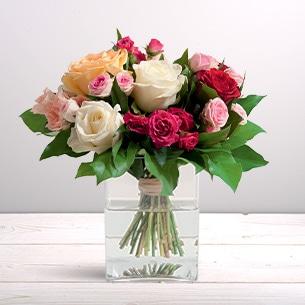 Bouquet de roses Sentiment Remerciements