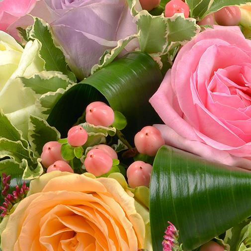 Bouquet de roses Sorbet