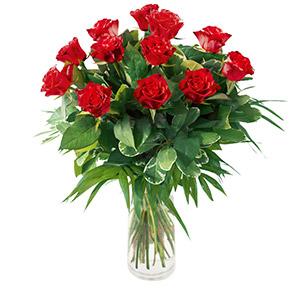 Bouquet de roses Tonic rouge Amour