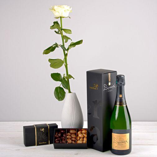 Bouquet de roses Trio festif
