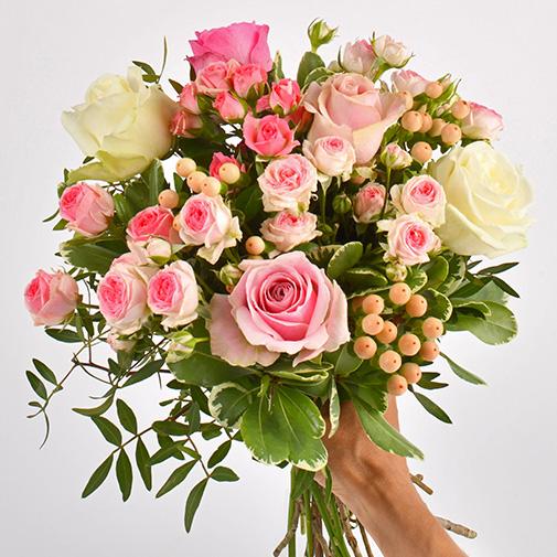 Bouquet de roses Rose magazine