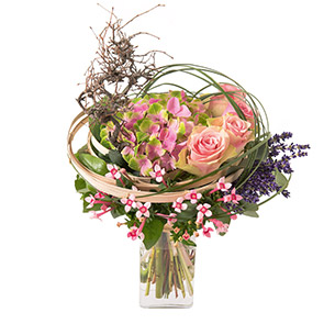 Bouquet de fleurs Arabesque Mariage invité