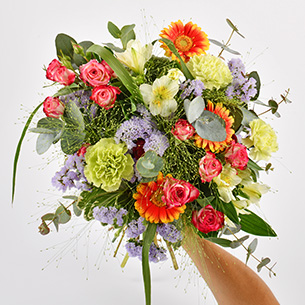 Bouquet de fleurs Arlequin Collection Hommes