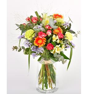 Bouquet de fleurs Arlequin Collection Homme Romantique