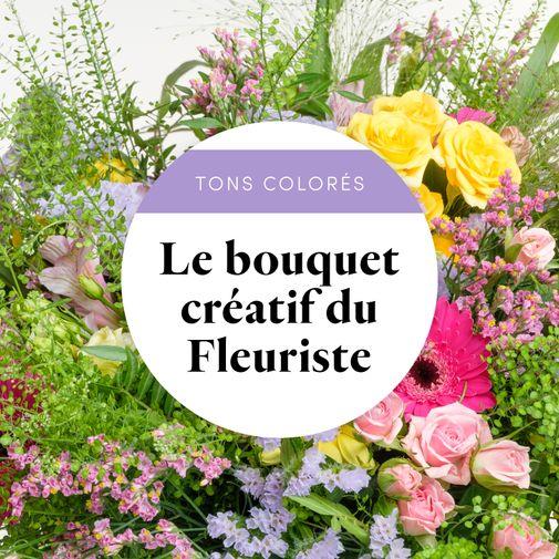 Bouquet de fleurs Bouquet du fleuriste Multicolore