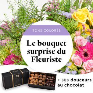 Bouquet de fleurs Bouquet gourmand du fleuriste