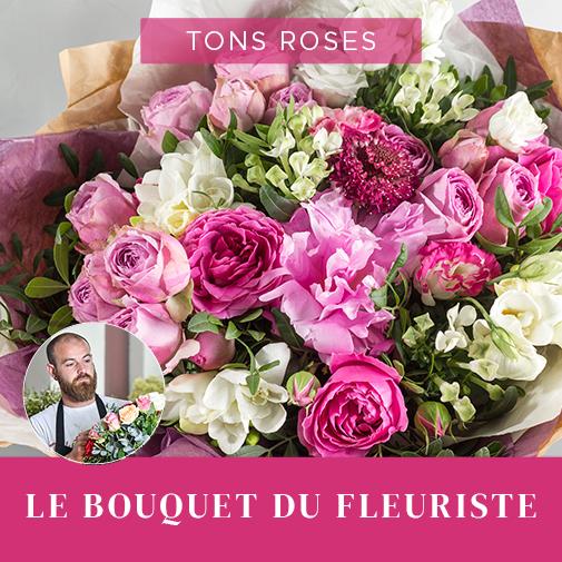 Bouquet de fleurs Bouquet du fleuriste Rose Muguet