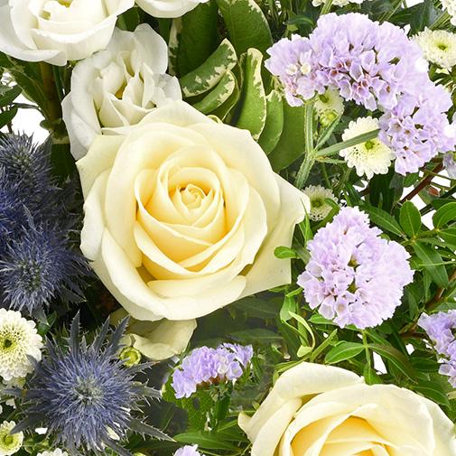 Bouquet de fleurs Blueberry
