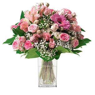 Bouquet de fleurs Bonheur Anniversaire