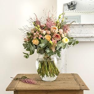 Bouquet de fleurs Bohème chic Mariage invité