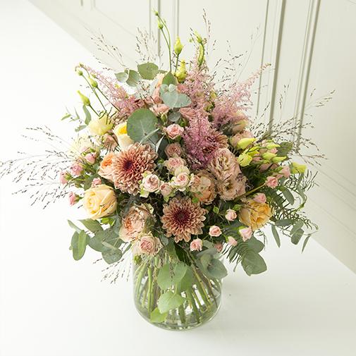 Bouquet de fleurs Bohème chic