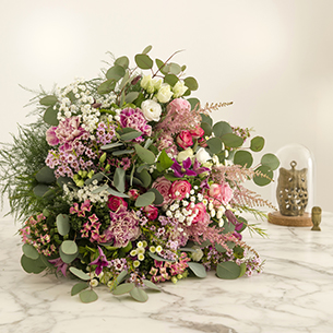 Bouquet de fleurs Bonheur intense Mariage invité