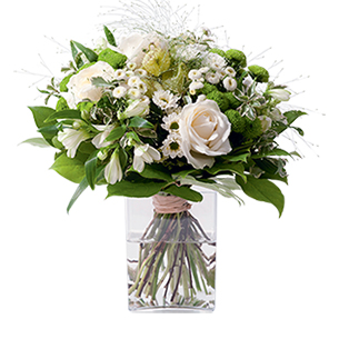 Bouquet de fleurs Confidence Remerciements