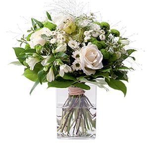 Bouquet de fleurs Confidence Mariage invité