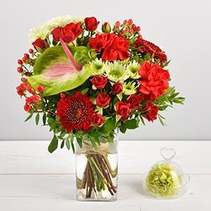 Bouquet de fleurs Croquandise Collection Hommes