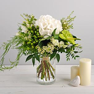 Bouquet de fleurs Diamant Mariage invité