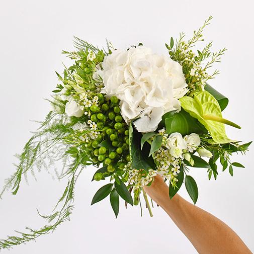 Bouquet de fleurs Diamant