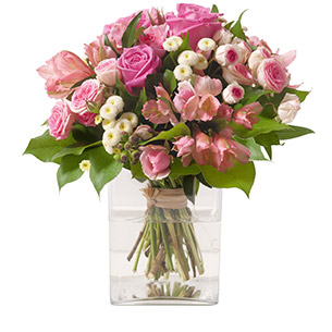 Bouquet de fleurs Douceur Anniversaire
