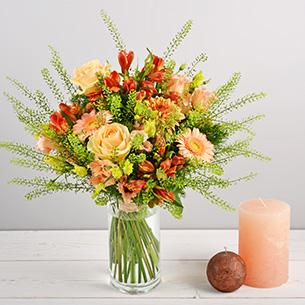 Bouquet de fleurs Eté indien Collection Hommes